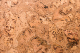 Close Up Background and Texture of Cork Board Wood Surface, Nature Product Industrial - 202575504