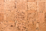 Close Up Background and Texture of Cork Board Wood Surface, Nature Product Industrial - 202575545