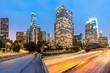 Quadro Los Angeles Downtown Sunset
