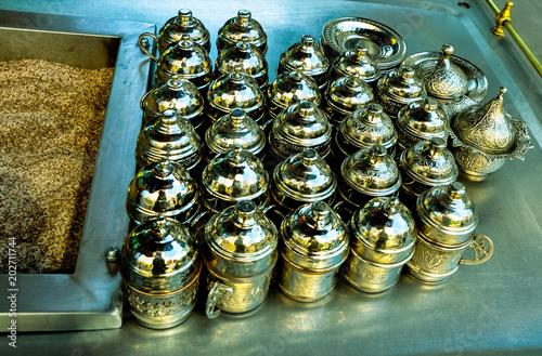 Equipment for preparing turkish coffee
