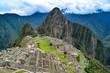 The lost Inca city of Machu Picchu, Cuzco, Peru