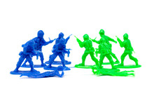 Miniature Toy Soldiers To Attack The Enemy Sticker