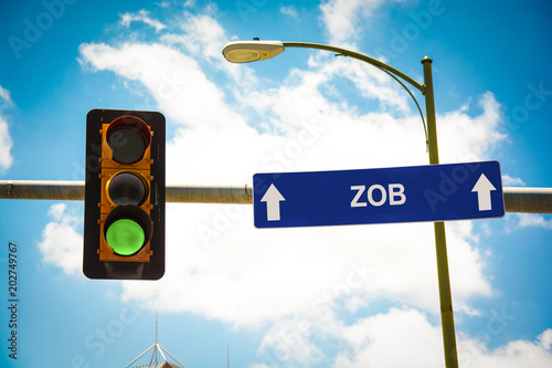 Schild 291 - ZOB