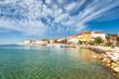 Leinwanddruck Bild - Porec town and harbor on Adriatic sea in Croatia, Europe.