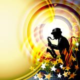 Jazz music festival background