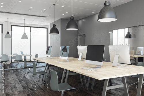 Coworking office interior - 202801729