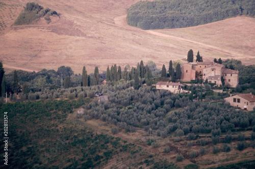 Plexiglas Zalm San Gimignano, Toscana, Italia