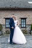 bride and groom wedding photosession - 202818178