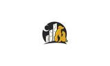 dog, cat, city, pet, emblem symbol icon vector logo - 202855964