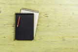Notebook with pencil - 202871730