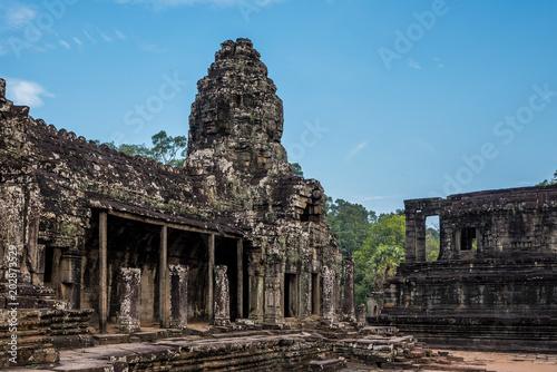 Plexiglas Boeddha Kambodscha - Angkor - Bayon Temple