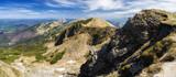 Panoramic mountain landscape - Mala Fatra national park, Slovakia