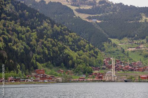 Aluminium Khaki Long lake in the Trabzon Turkey Uzun gol