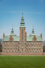 Copenhagen Rosenborg Castle Facade