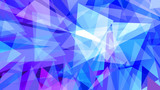 Abstract futuristic background in blue and purple  tones. Techno, geometric texture