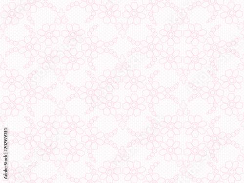 Floral lace pattern - 202976134