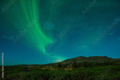 Plexiglas Noorderlicht Iceland 2017