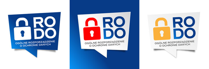 RODO - Ogólne Rozporządzenie o Ochronie Danych © Brad Pict