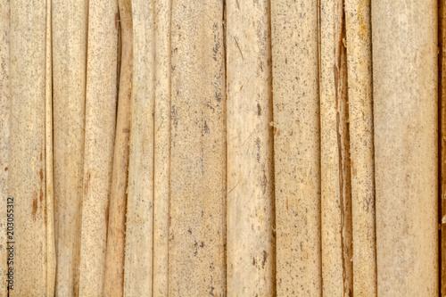 Plexiglas Bamboe bardage de bambou
