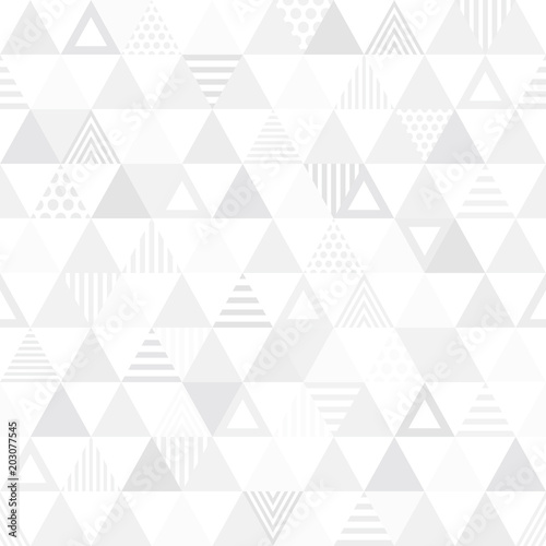 obraz PCV Seamless pattern triangle. 三角のパターン