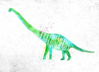 Dynosaur brachiosaurus vivid © anna42f