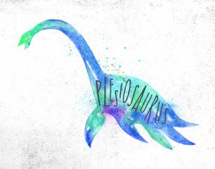 Dynosaur plesiosaurus vivid © anna42f