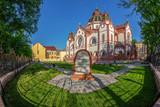 Hungarian Art Nouveau synagogue in Subotica, Serbia - 203094545