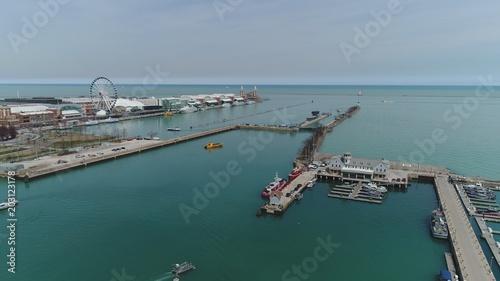 Canvas Chicago Chicago Harbor