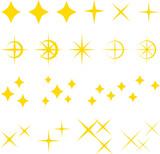 キラキラ、輝きのイラストセット - 203181798