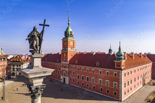 Fototapety, obrazy : Kolumna Zygmunta III Wazy na placu Zamkowym