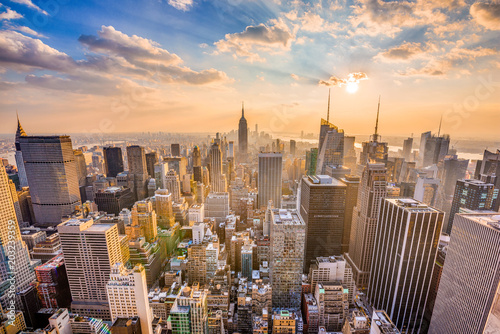 obraz lub plakat New York City Skyline