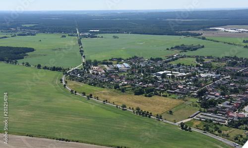 Aluminium Khaki Ferdinandshof an der B109 in Vorpommern
