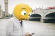 surprised emoji on london