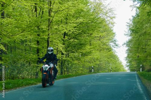 Motorrad, Geschwindigkeit, Straße