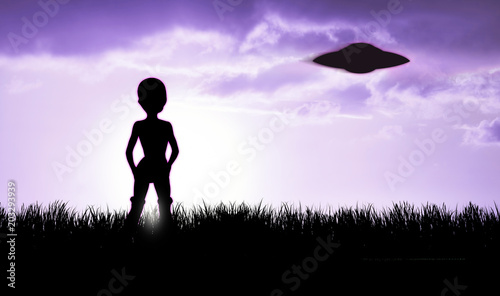 alien and ufo silhouette buy photos ap images detailview