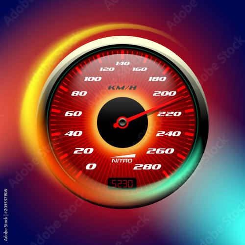 hot speedometer