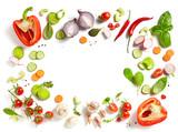 various fresh vegetables