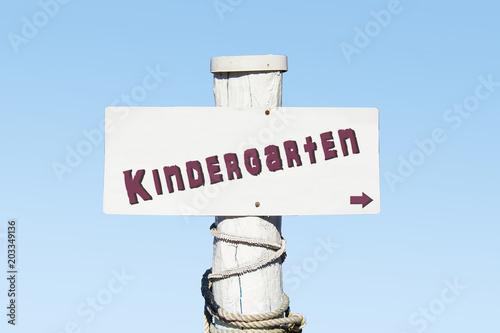 Schild 330 - Kindergarten