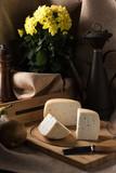 assortments of Italian cheeses - 203357921