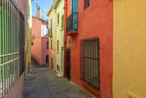 Dans les rues de Collioure © Yves Auboyer