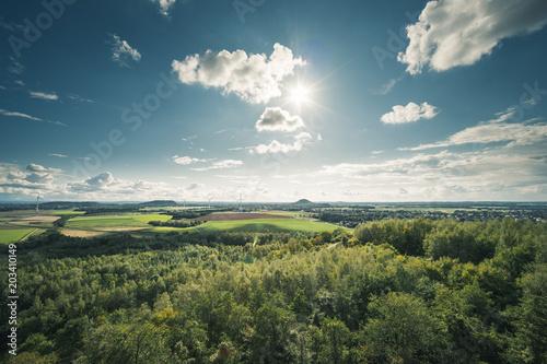 Fotobehang Landschappen grüne Landschaft