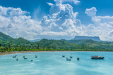 Bay of Baracoa with El Yunque table mountain in the background