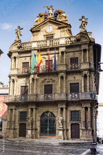 Ayuntamiento de Pamplona. Plaza consistorial