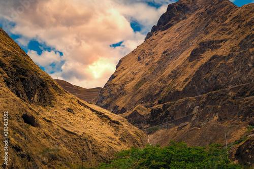 Mountains at Ecuador