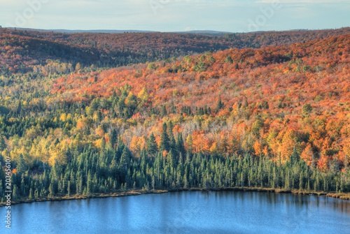 Plexiglas Zalm Oberg Mountain is part of the Sawtooth Range on the North Shore in Minnesota