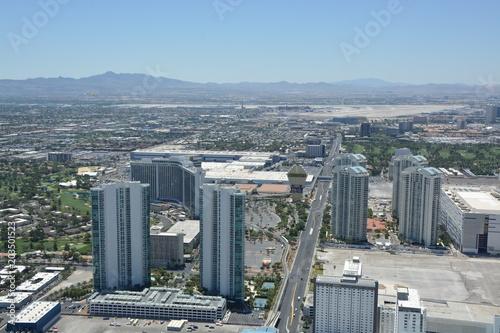 Fotobehang Las Vegas ラスベガス ネバダ州 街並み