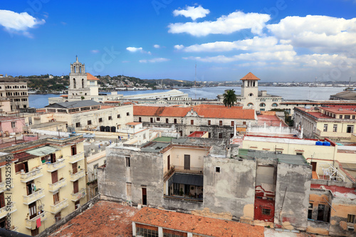 Aluminium Havana Old havana panorama