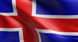Flag of Iceland - 203551325