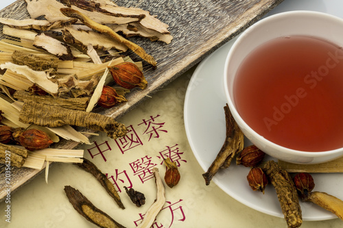 tea for traditional chinese medicine - 203562927