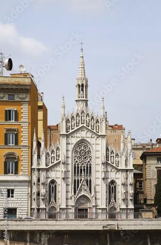 Kościół Najświętszego Serca w Suffragio Suffrage. Rzym. Włochy